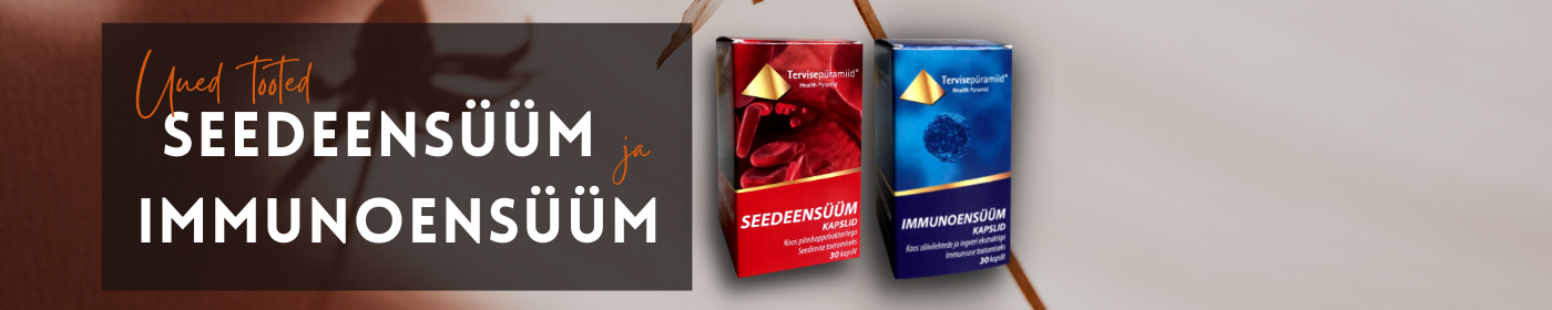 Tervisepüramiid uus toode- immunoensüüm ja seedeensüüm